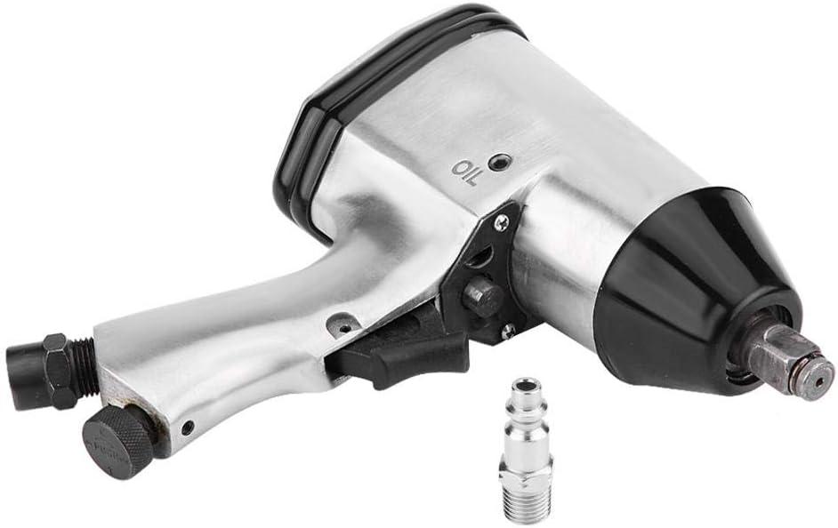 Pneumatic Wrench,1//2Trasmissione pneumatica pistola della chiave a impulsi Strumenti di rimozione e installazione