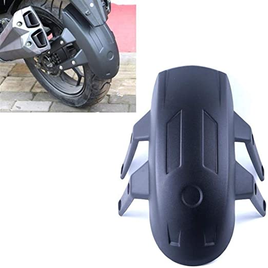 1PC Motorcycle Rear Wheel Fender Cover Splash Guard Mudguard w//Mounting Bracket