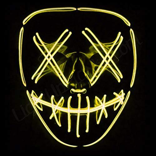 UltraSunday Light Up Masks