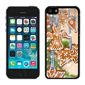 Iphone 5C Case,5C cases,Christmas decorations Iphone 5C Case Black Cover