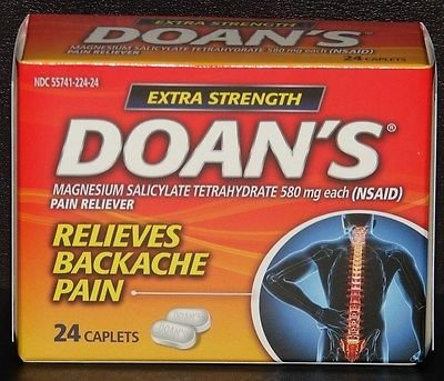 Doans Extra Strength Pills 24-Count (3-Pack)