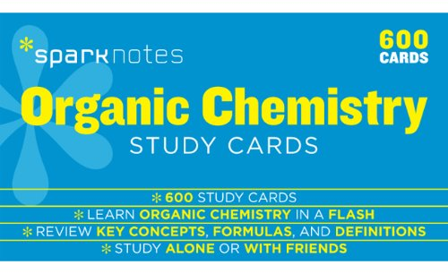 Organic Chemistry SparkNotes Study Cards