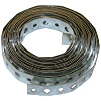 LASCO 13-1603 22-Gauge Galvanized Metal Perforated Plumbers Tape, 3/4-Inch X 10-Feet by LASCO