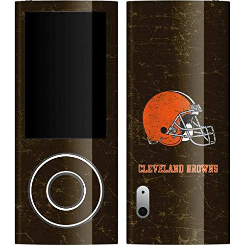 Cleveland Browns Nano - NFL Cleveland Browns iPod Nano (5G) Video Skin - Cleveland Browns Distressed Vinyl Decal Skin For Your iPod Nano (5G) Video