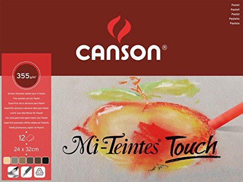 Canson Mi-Teintes Touch Assorted Pads - 9.5