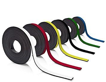Farbe:Gr/ün Farbiges Magnetband 50mm breit zum Beschriften und Zuschneiden