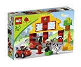 LEGO DUPLO My First Fire Station Kids Firefighter Playset w/ 2 Figures | 6138