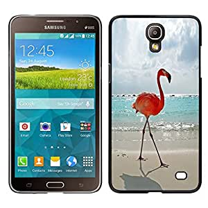 LECELL--Funda protectora / Cubierta / Piel For Samsung Galaxy Mega 2 -- flamenco verano Miami sol de la playa del mar --