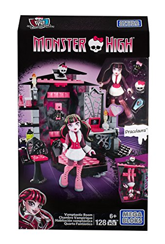 Vortex Mirror Block - Mega Bloks Monster High Draculaura's Vamptastic Room Building Set