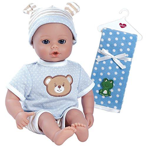 Adora PlayTime Beary Blue Washable Soft Cuddly Body Play Bab