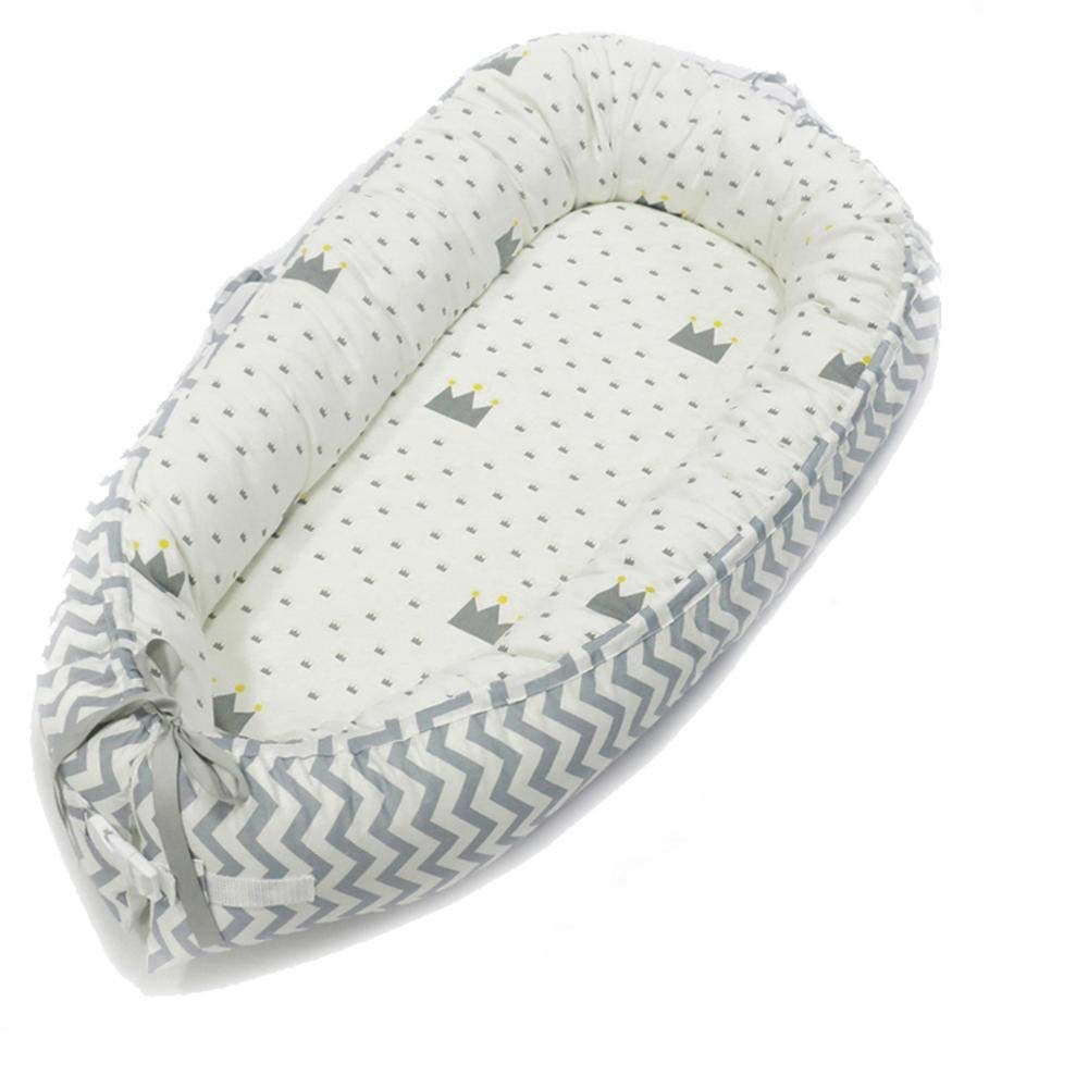 Reductor Protector de Cuna Cama de Viaje Hbitsae Cama Nido de Beb/é Reci/én Nacido para Acurrucarse para Dormir Baby Nest Nido beb/é Reductor De Cuna Reversible Capullo Multifuncional de Baby