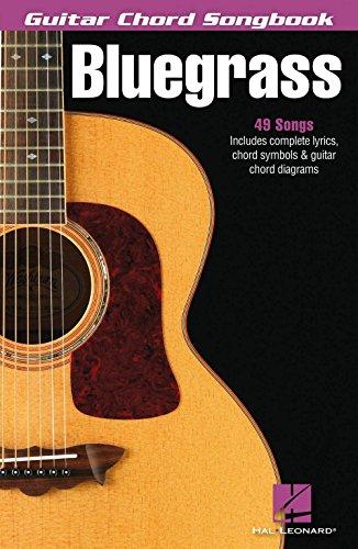 Hal Leonard Bluegrass - Guitar Chord (Blue Moon Piano Sheet)