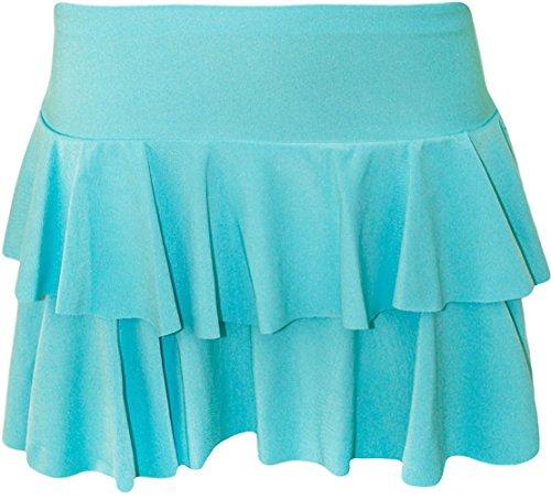 Fashion de primera categoría - nuevo de pantalones cortos para mujer nedón UV sustancia Rar5a Rock para despedidas Club streetcourt turquesa