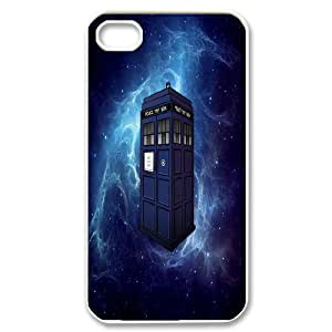 Dr Doctor Who Season Van Gogh Tardis Painting Rubber Case for iPhone 4S Cover A ML194334