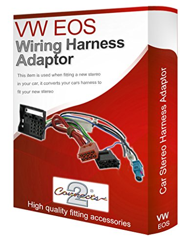 VW EOS CD radio stereo wiring harness adapter lead loom: Amazon.co.uk: Electronics