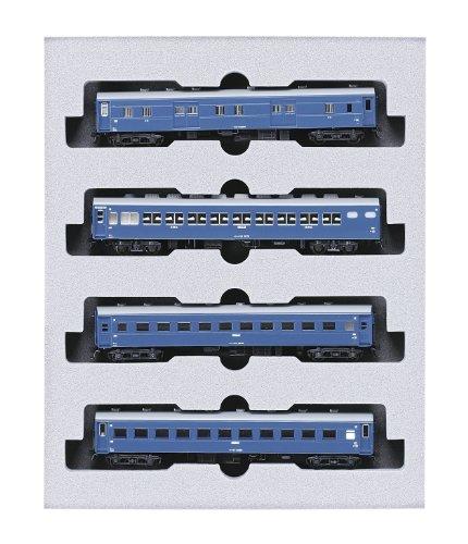 [해외] KATO N게이지 10 계침대 급행 묘우코우 증결 4 양세트 10-564 철도 모형 객차