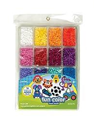 Perler Fused Bead Tray 4000/Pkg-Fun Color