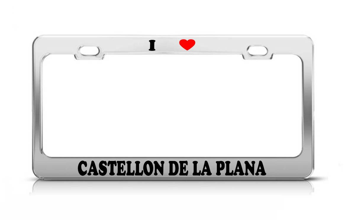 Amazon.com: I HEART CASTELLON DE LA PLANA Spain Metal Tag ...