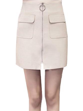 Faldas Mujer Casual Falda Verano Falda Moda De Mujer Hipster Moda ...
