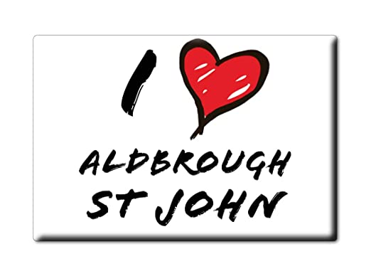 Enjoymagnets ALDBROUGH ST John Souvenir IMANES DE Nevera Reino ...