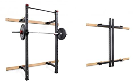 Grupo Contact Jaula/Rack Pared ABATIBLE (para musculacion y ...