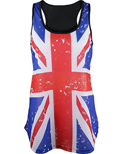 United Kingdom UK Great Britain Sublimated Womens Tank Top Shirt M (United Kingdom Shirt compare prices)