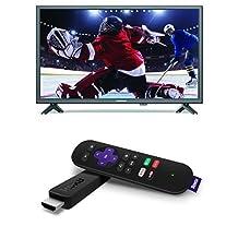 Sylvania 32-Inch LED HD TV and Roku Stick Streaming Media Player 3600CA (2016 Model)
