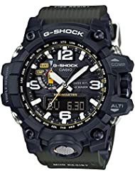 Casio G-Shock Mudmaster Black-Tone Dial Resin Quartz Mens Watch GWG1000-1A3