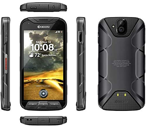 Kyocera DuraForce Pro E6830 Sprint (GSM Unlocked) - Military Grade Rugged Smartphone Waterproof - Black       (Pack Battery Military Grade)