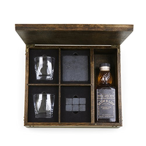 LEGACY - a Picnic Time Brand Whiskey Box Gift Set with Service for Two by LEGACY - a Picnic Time Brand (Image #2)