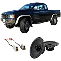 Fits Nissan Hardbody Pickup 1986-1993 Rear Wall Factory Replacement HA-R65 Speakers New