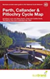 Perth, Callander & Pitlochry Cycle Map 43 (Pocket Sized Guide to the National Cycle Network)