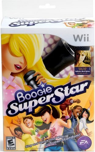 Boogie Superstar with Microphone - Nintendo Wii