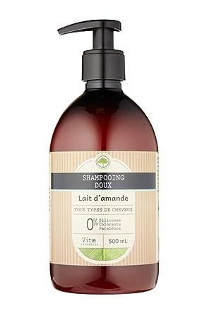 vitæ Cosmetics - Champú (suave Leche de almendra 500 ml ...