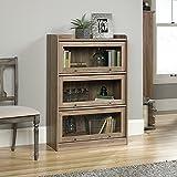 Sauder Barrister Lane 3 Shelf Bookcase in Salt Oak