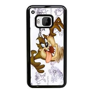 Custom Cell Phone Case HTC One M9 Black Case Cover Cartoon Looney Tunes Taz 12QQ4695157