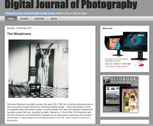 The Digital Journal Of Photography