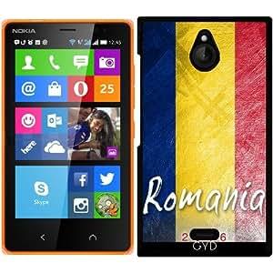 Funda para Nokia X2 - Bandera De Rumania by Julien Kaltnecker