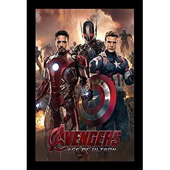 amazoncom the avengers age of ultron 2015 24x35 movie