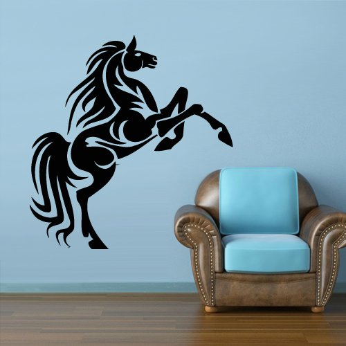Wall Vinyl Sticker Decals Horse Mustang Cool New Decal z068