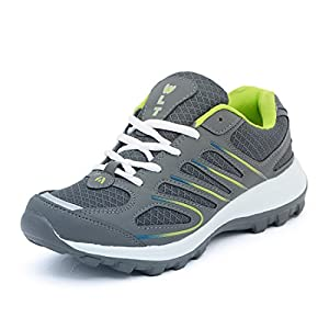 ASIAN Men's Bullet-02 Grey Green Walking,Sports,Gym,Running Shoes