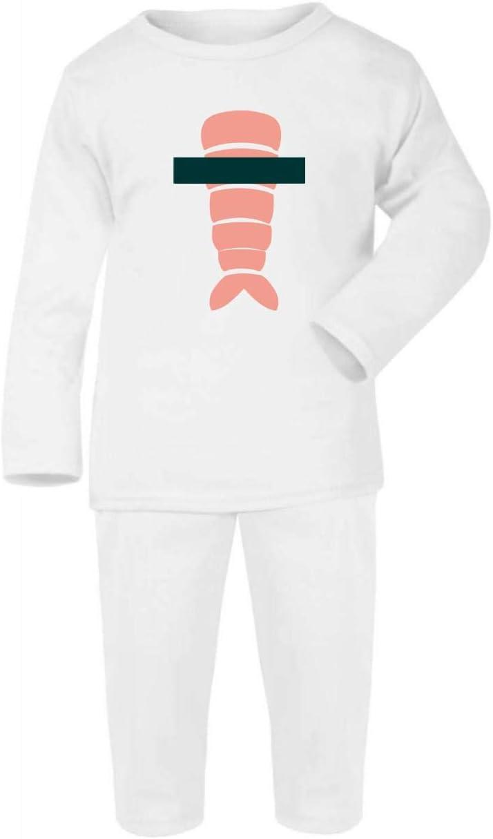Sushi Roll disfraz Halloween algodón bebé pijama conjunto manga ...