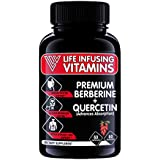 LIV Premium Berberine + Quercetin + Hesperidin, 650mg | Advanced Digestion, Cardiovascular & Immune System Support | Supports Healthy Blood Sugar, Made in USA