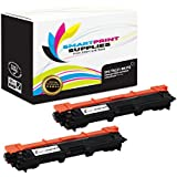 Smart Print Supplies Compatible TN221 TN221BK Black Premium Toner Cartridge Replacement for HL-3140CW 3170CDW, MFC-9130CW 9340CDW, DCP-9020CDW Printers (2,500 Pages) - 2 Pack