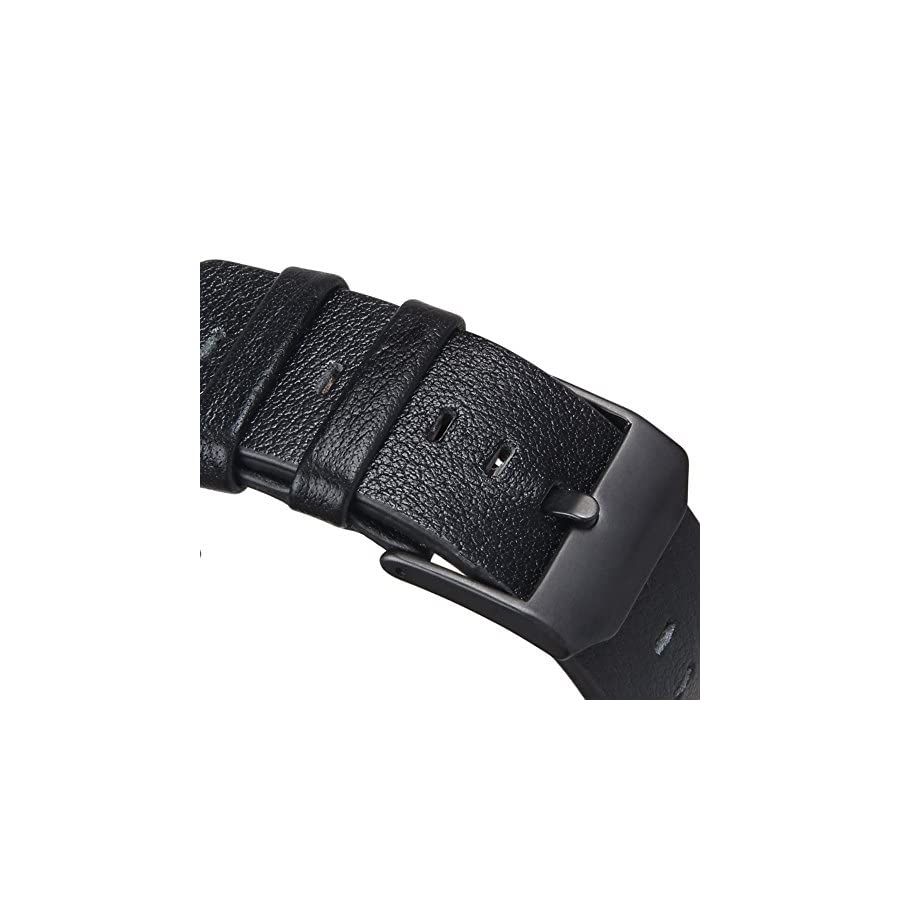 V Moro for Fitbit Blaze Bands, Accessories Genuine Leather Replacement Band for Fitbit Blaze Smart Watch