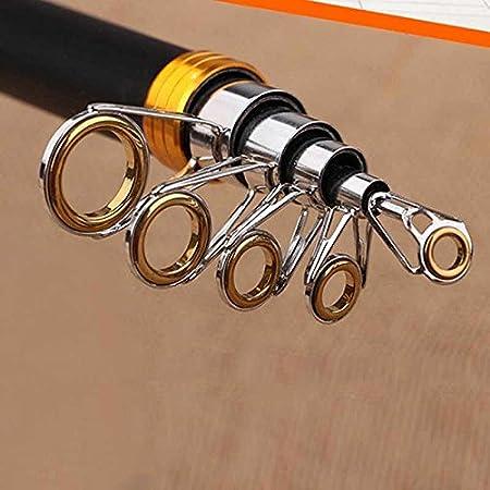 2.4 3.0 Rokoo Tige de p/êche t/élescopique /à fibre de carbone 2.1 2.7 3.6m P/ôle de p/êche maritime de haute performance
