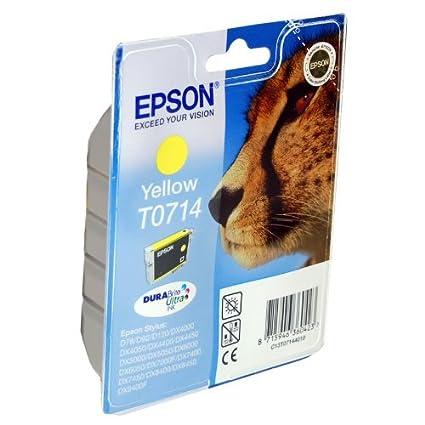 1 cartucho de tinta para impresora Epson Stylus DX5000 - amarillo ...