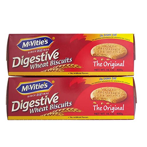 McVitie's Original English Digestive Wheat Biscuits 14.1 oz. Box (2 pack)