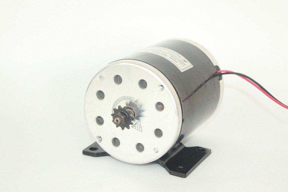 24V36V48V 500W Elektrischer Motor gebürsteter DC-Motor Elektrischer Roller-Motor MY1020 Elektrischer Roller-Umbausatz E-Fahrrad Motor-Installationssatz