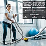 Single Patella Knee Strap Support Stabilizer